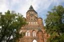 Blick auf den Greifswalder Dom