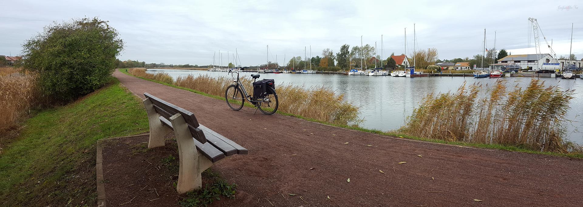 Treidelpfad am Ryck in Greifswald