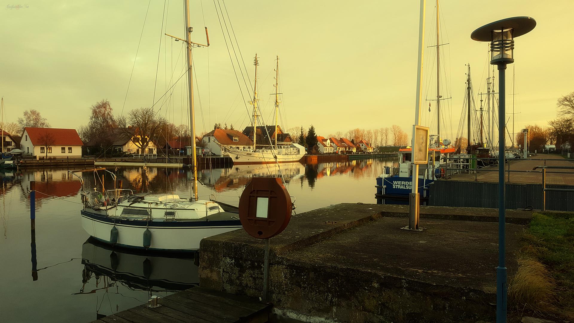 Silvestermorgen in Greifswald-Wieck