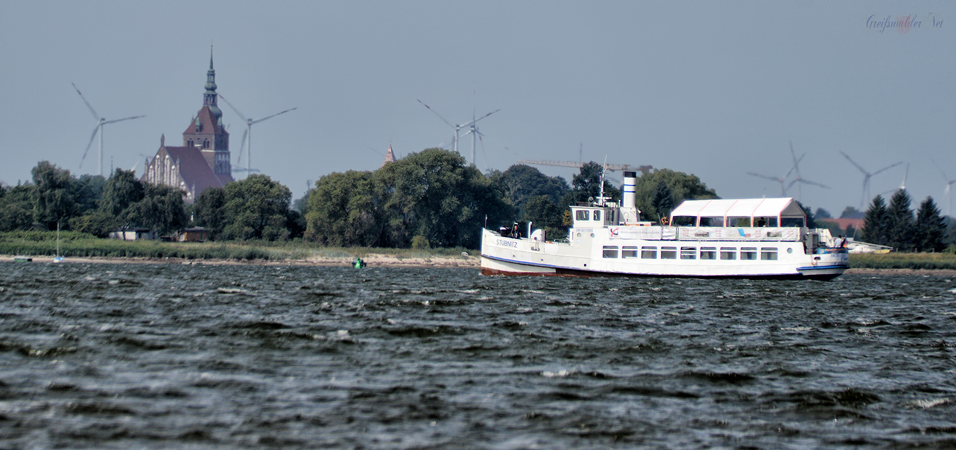 Blickrichtung Greifswald