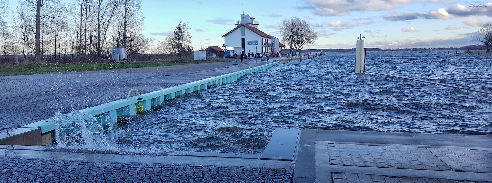 stürmisch in Greifswald-Wieck