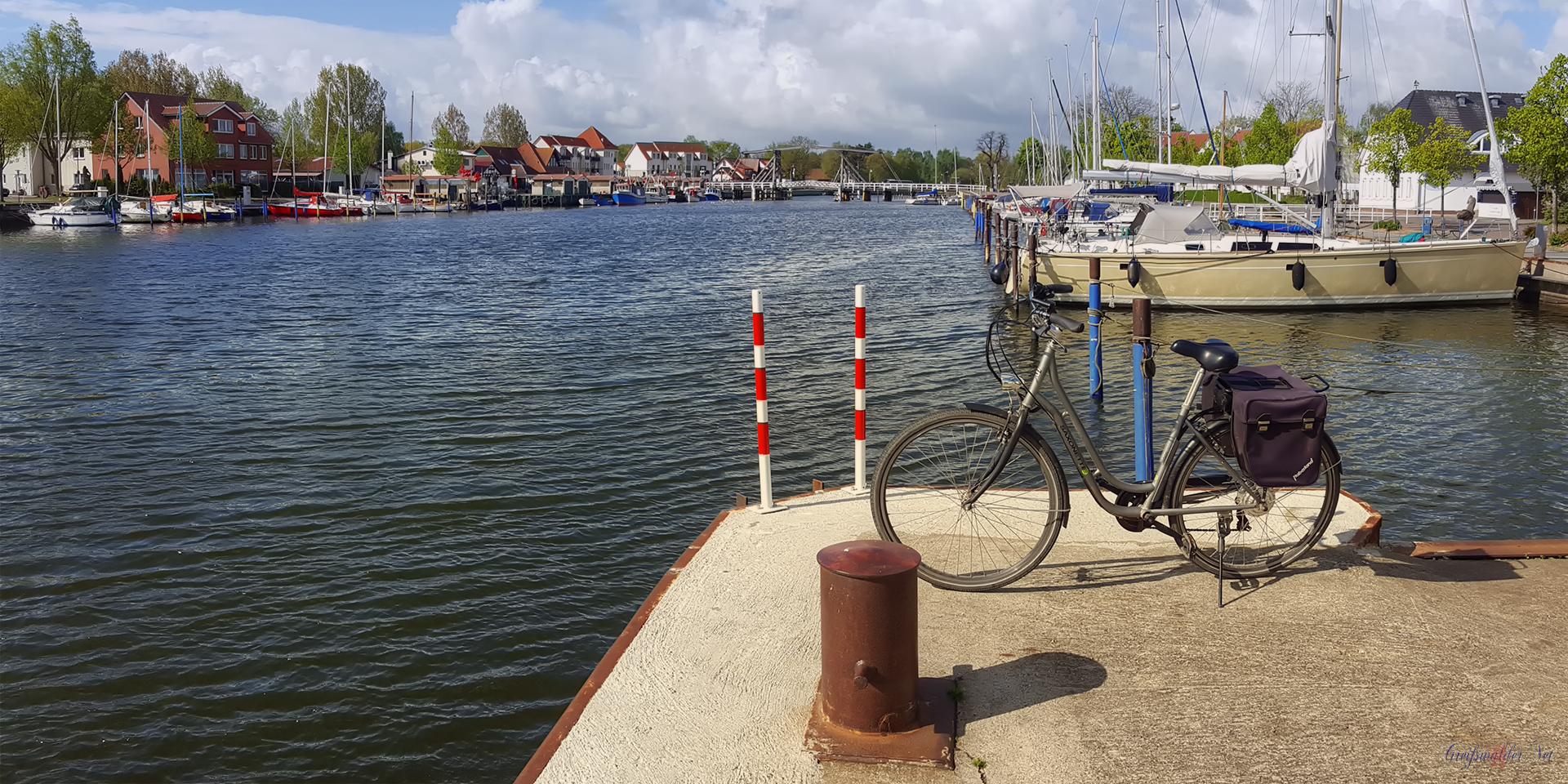 Kühler Freitag in Greifswald-Wieck