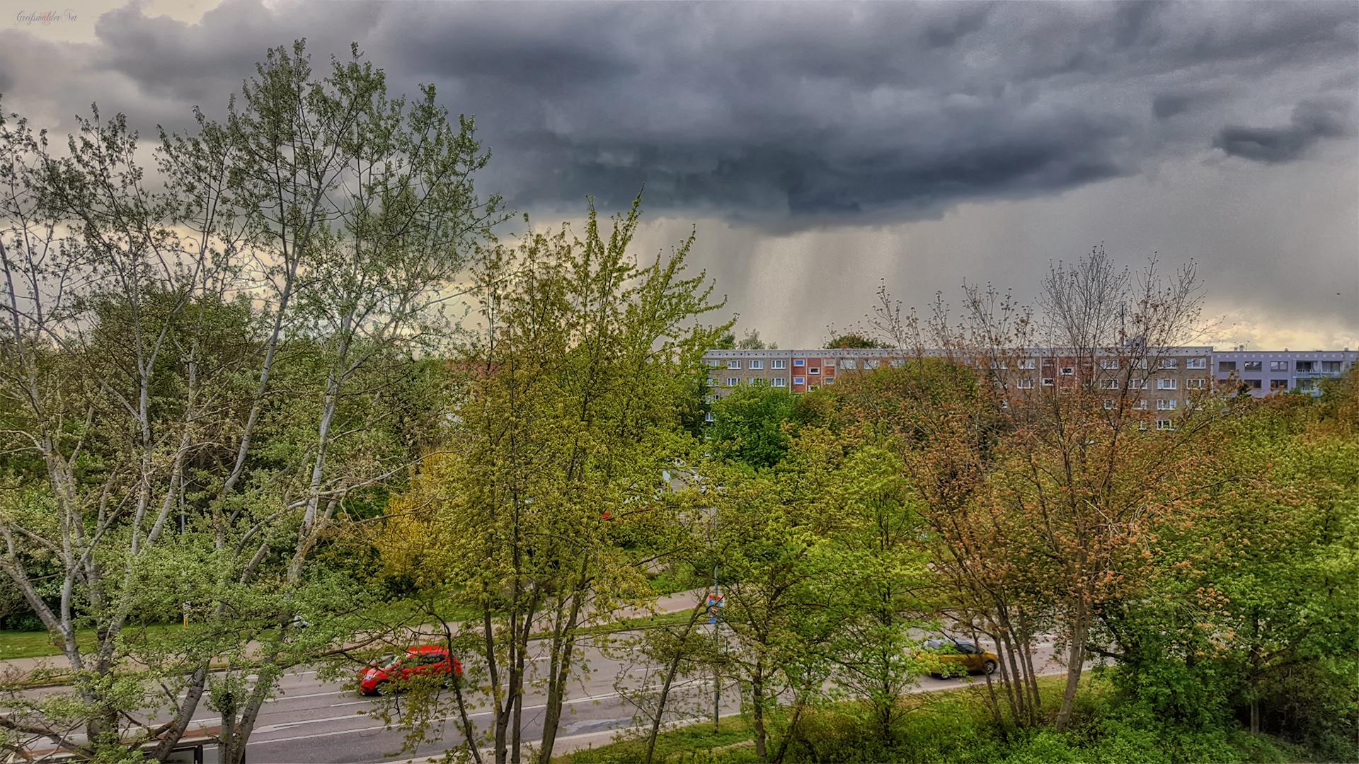 Düstere Aussichten - Wetter in Greifswald
