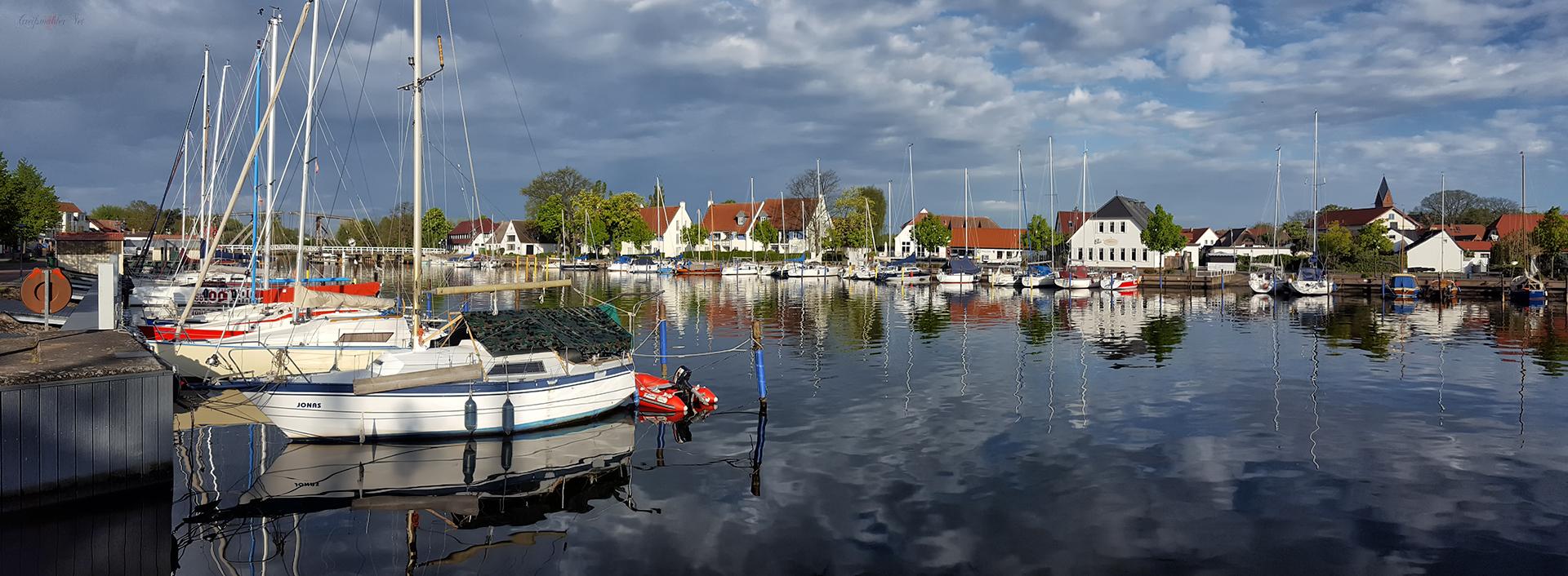 Freitagmorgen bei Sonnenschein in Greifswald-Wieck