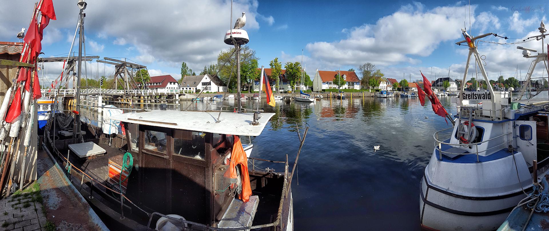 Sonntag in Greifswald-Wieck