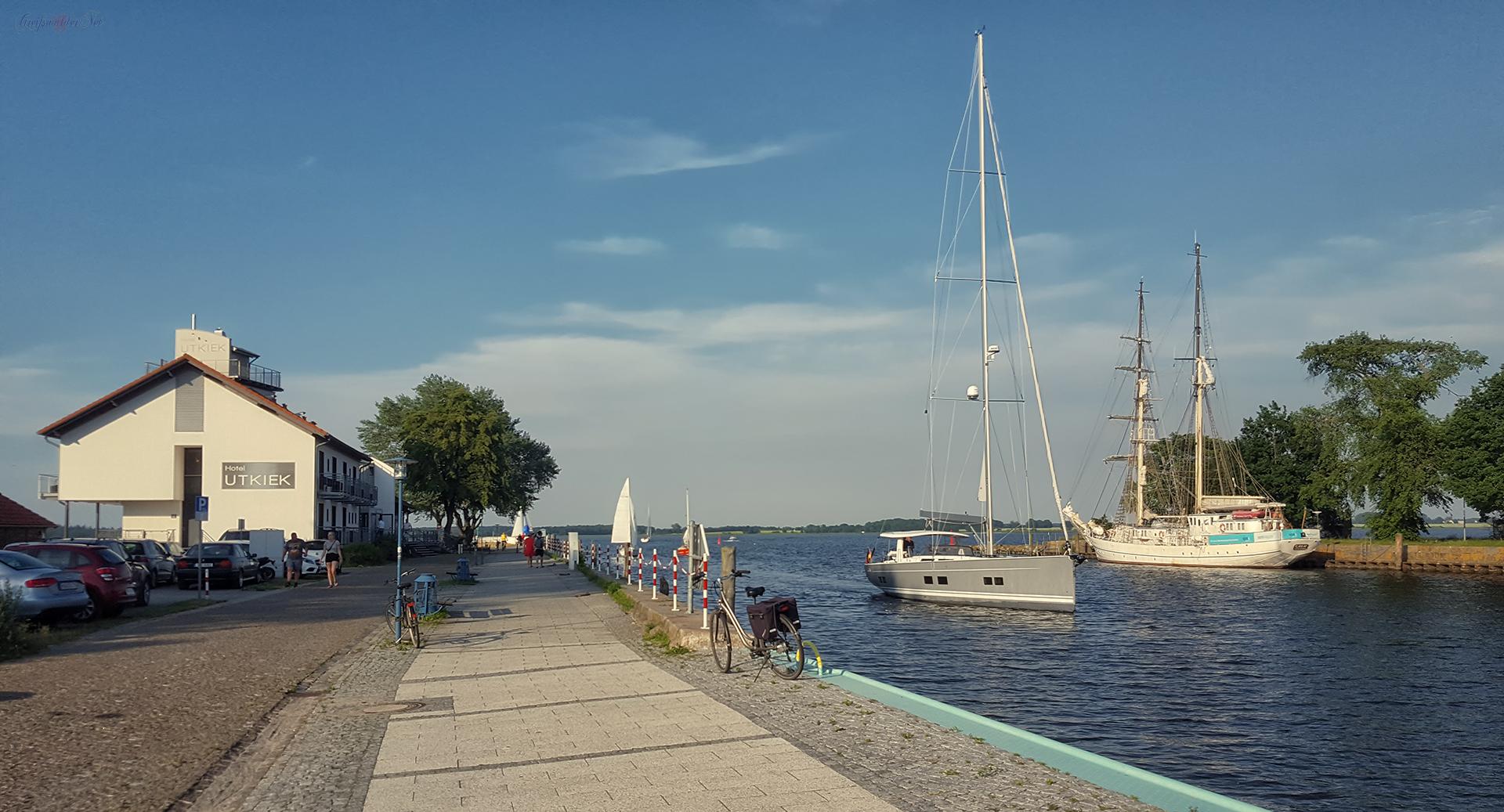 Hotel & Restaurant Utkiek in Greifswald-Wieck
