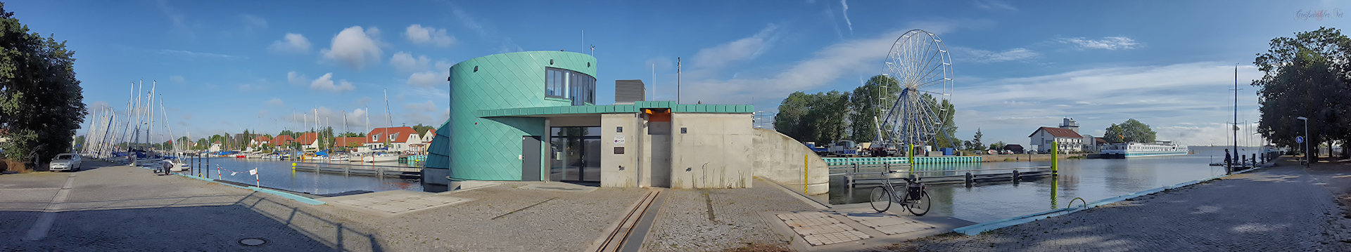 Greifswald-Wieck (Sperrwerk)