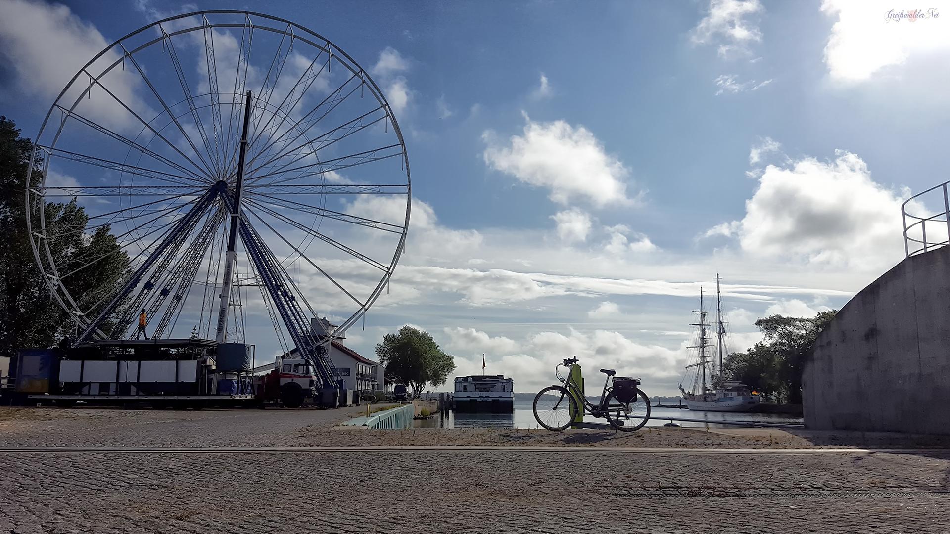 Riesenrad zum Fischerfest