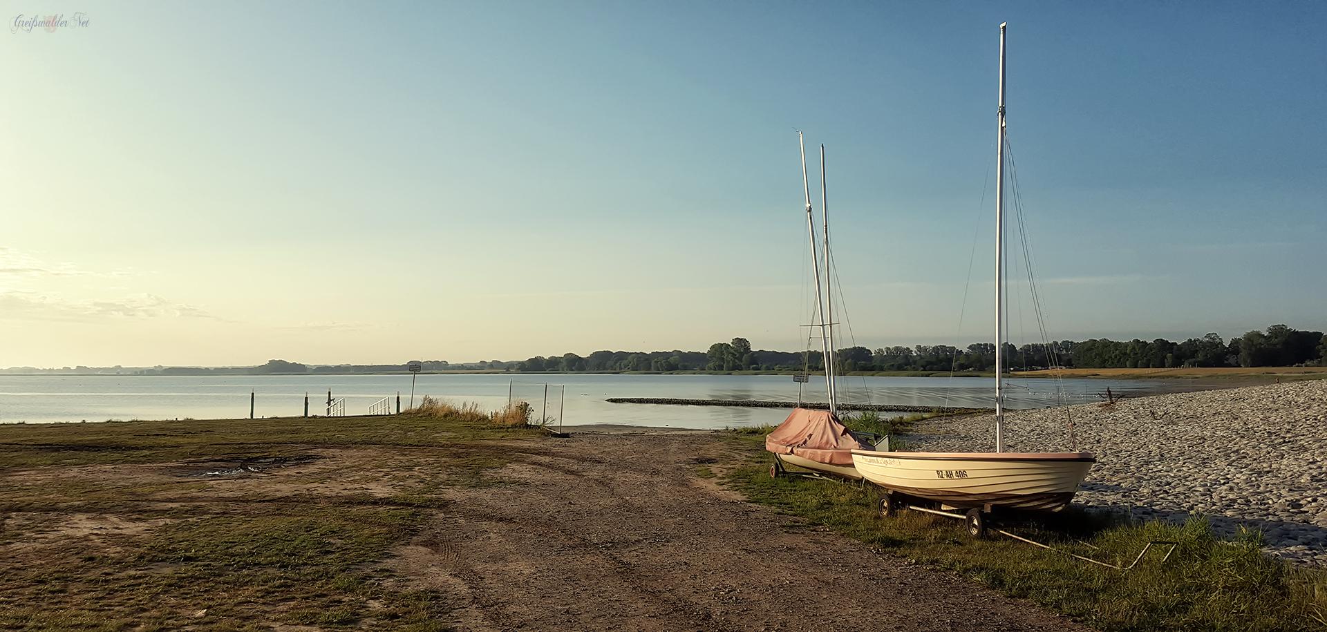 Segelboote an der Dänischen Wiek