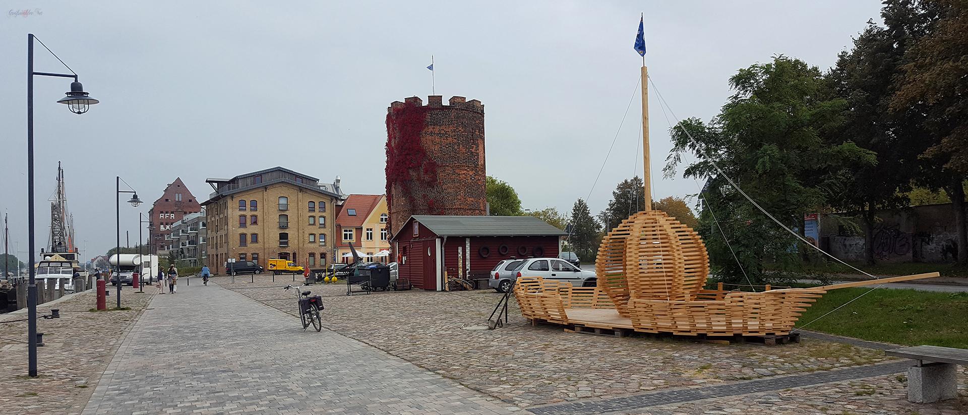 Am Fangenturm in Greifswald