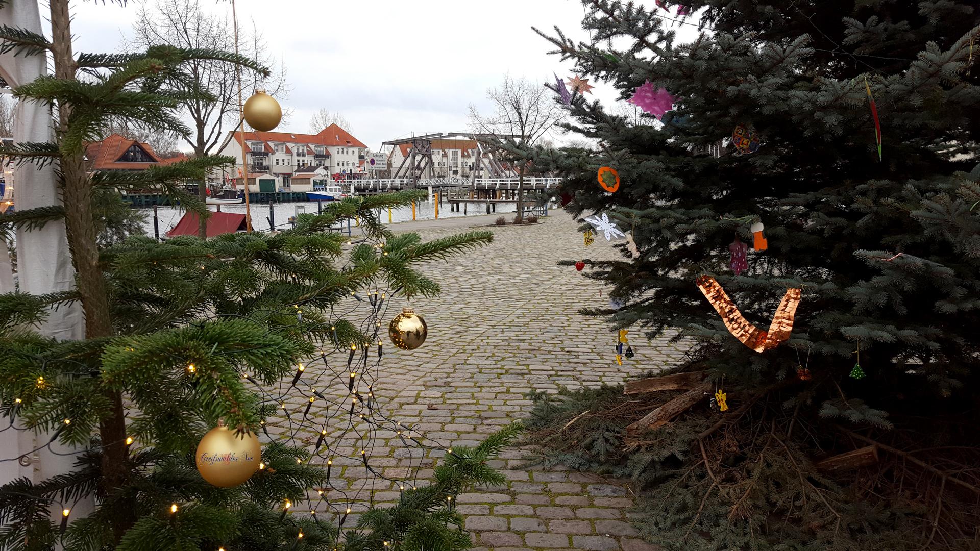 Adventsstimmung in Greifswald-Wieck