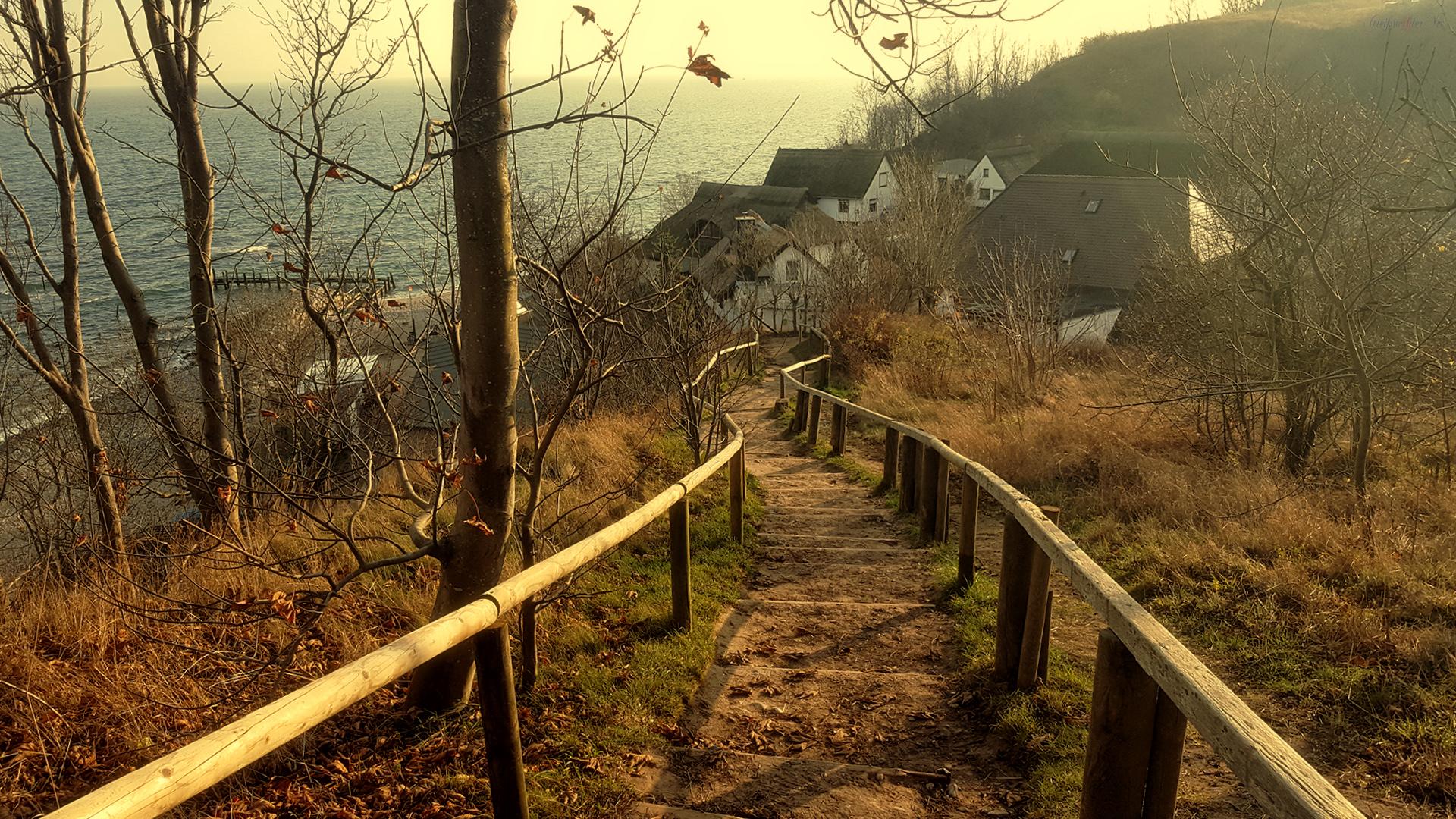 Weg zur Ostsee - Fischerdorf Vitt