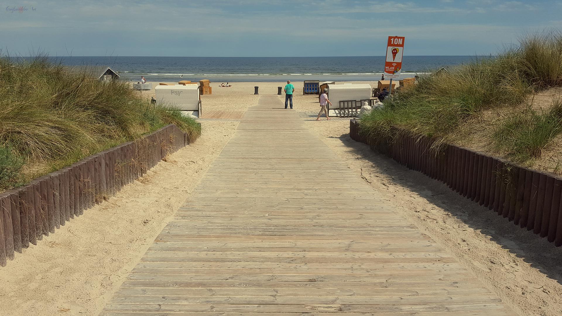 Auf geht's an den Strand