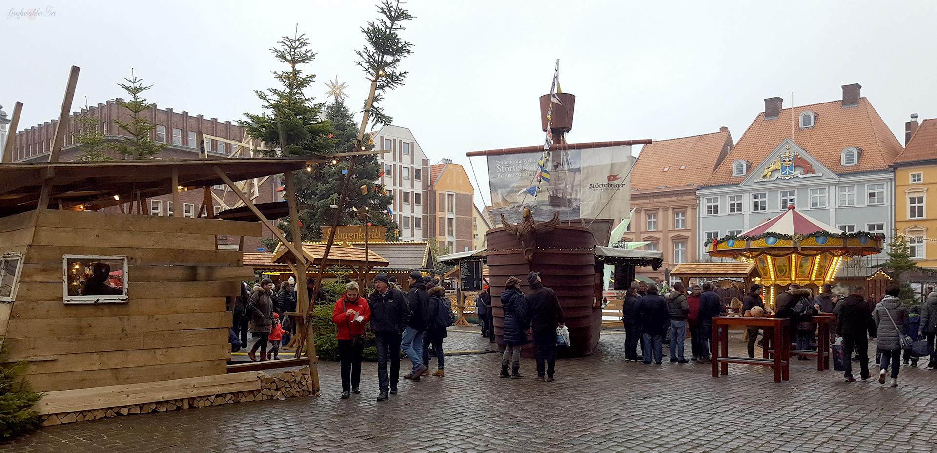 Adventsstimmung in Stralsund