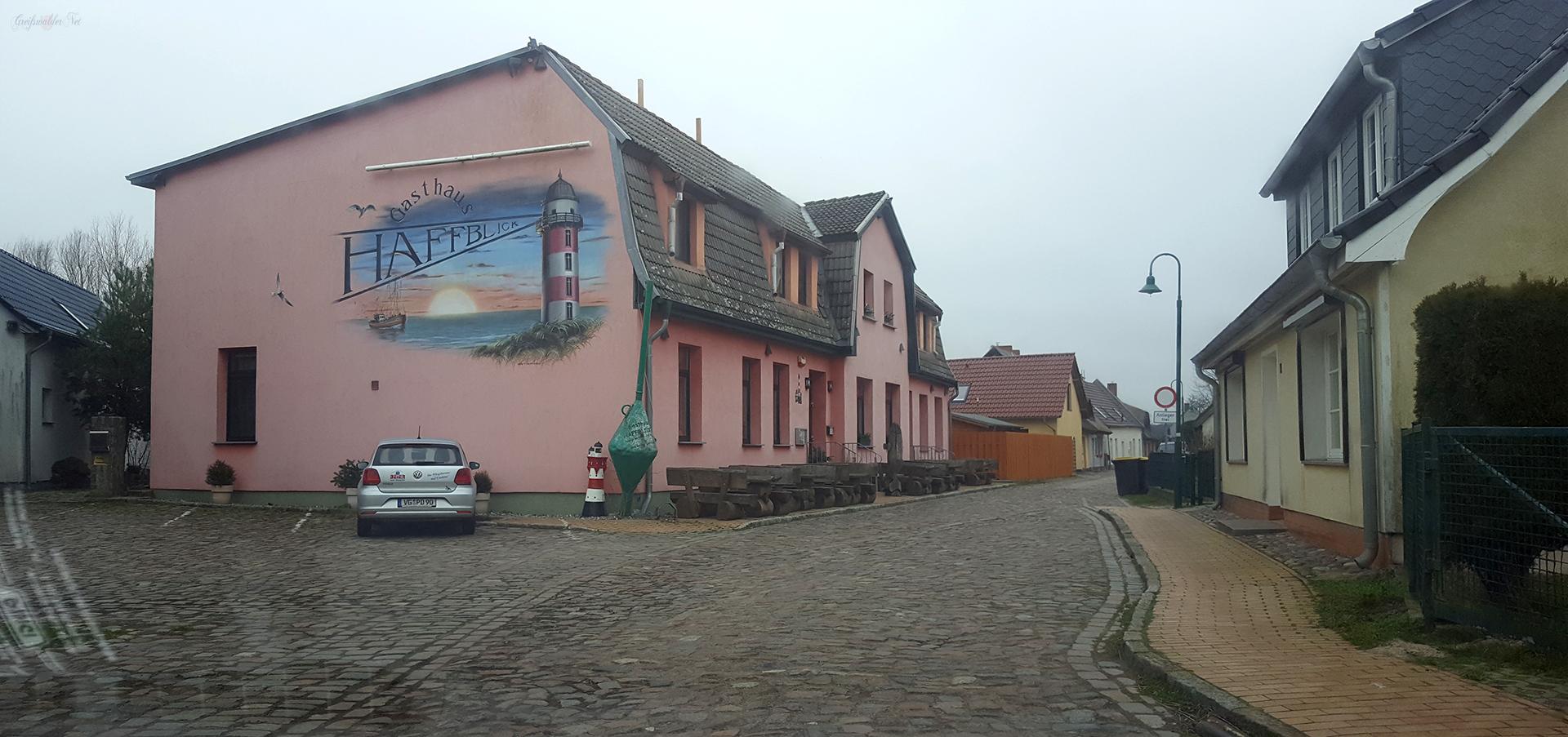 Straße in Kamminke