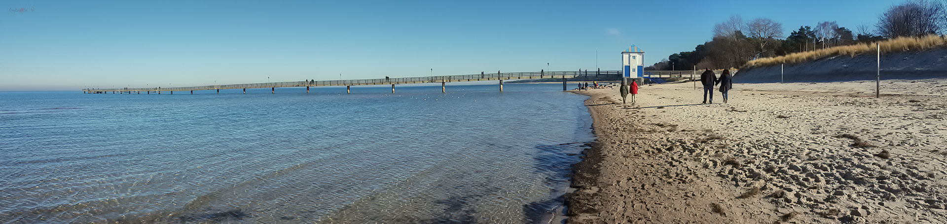 Strand und Seebrücke Lubmin