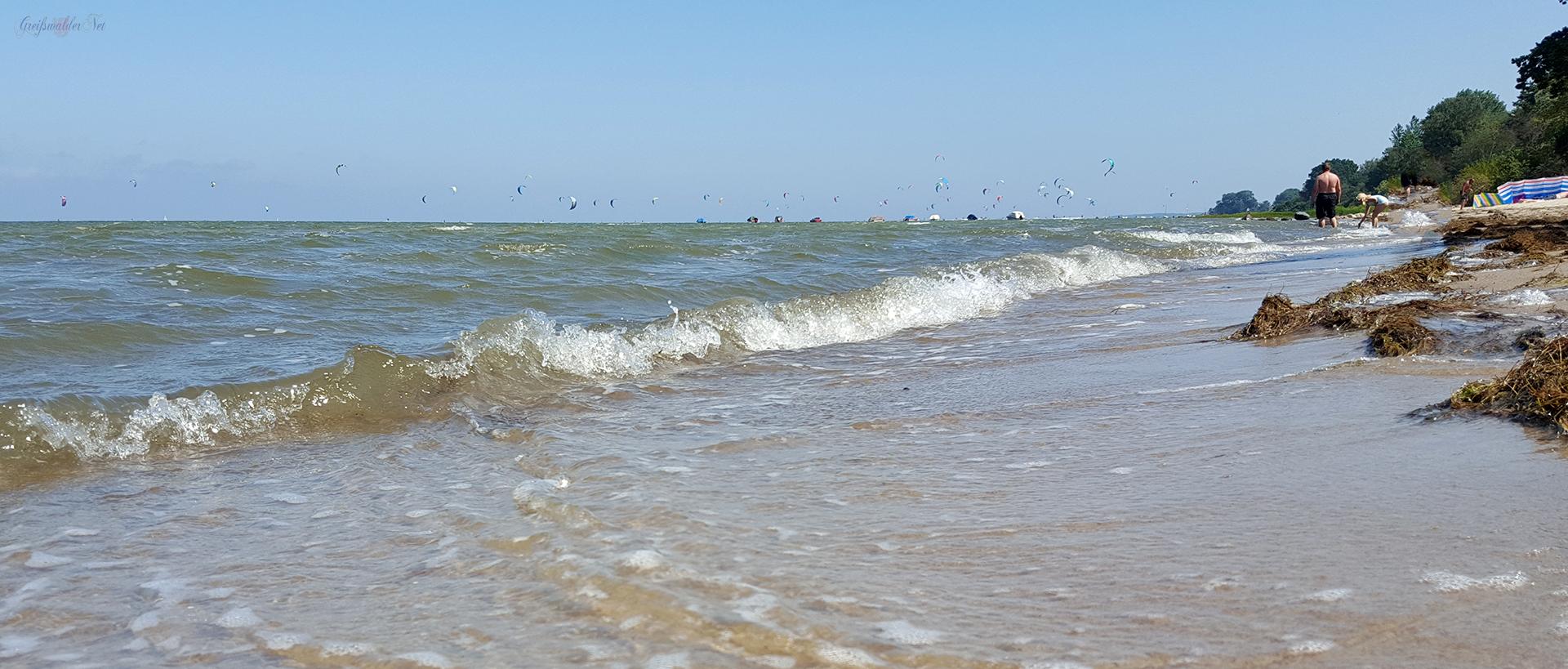 Strand bei Loissin