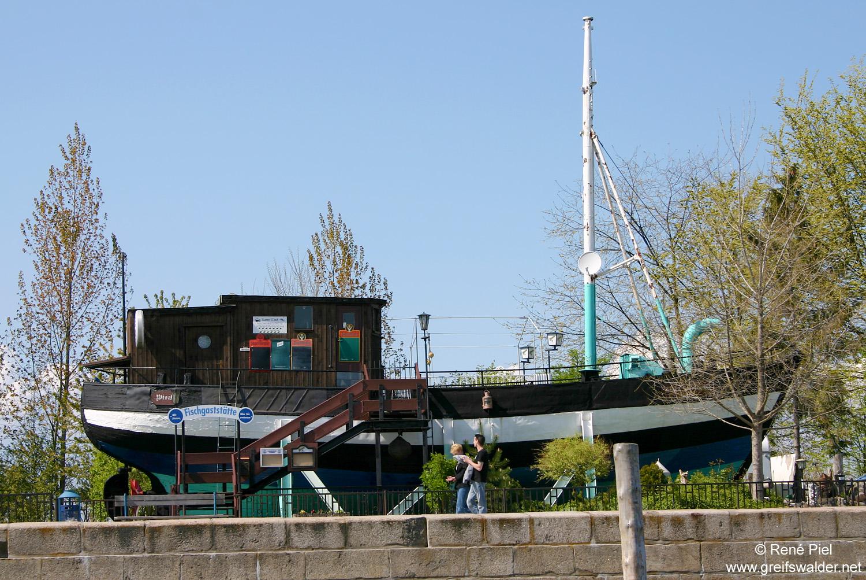 Ehemalige Fischgaststätte in Greifswald-Wieck