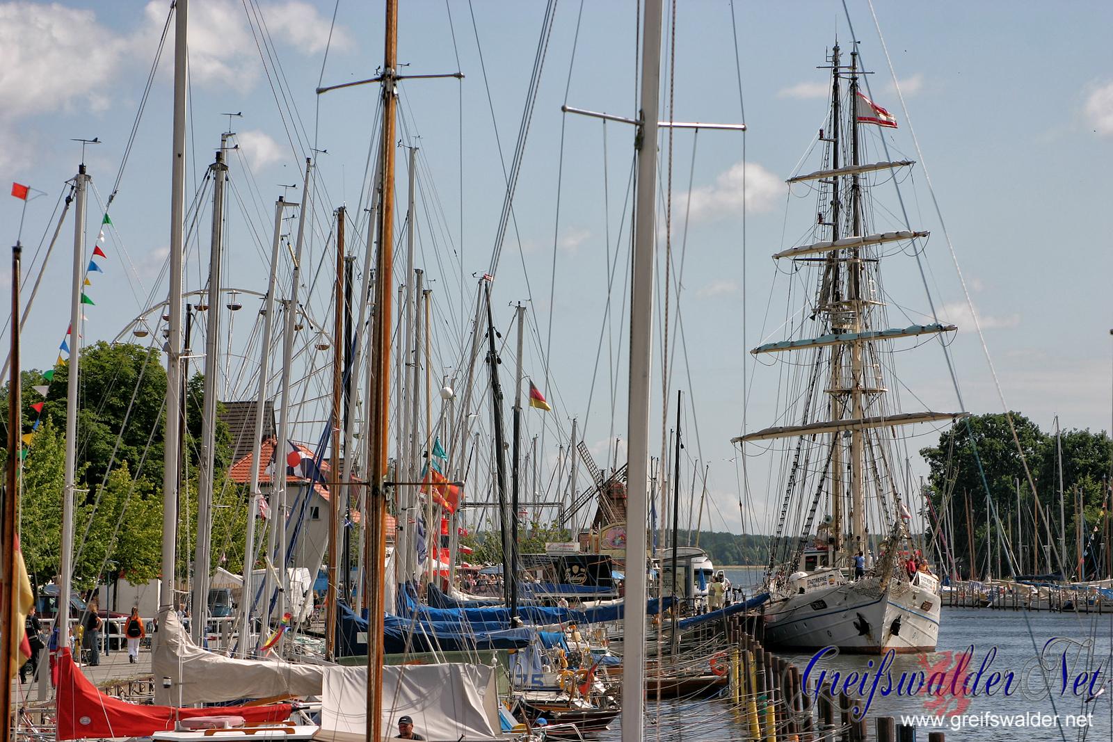 Fischerfest Gaffelrigg 2005 in Greifswald-Wieck