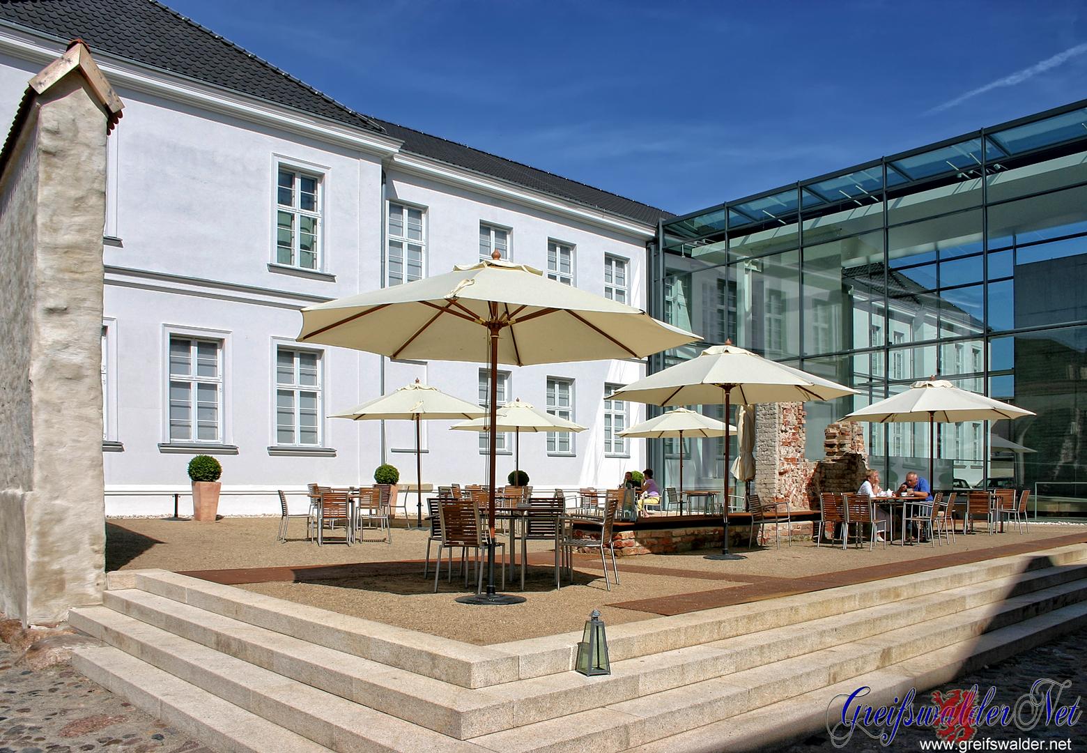 Am Pommerschen Landesmuseum Greifswald