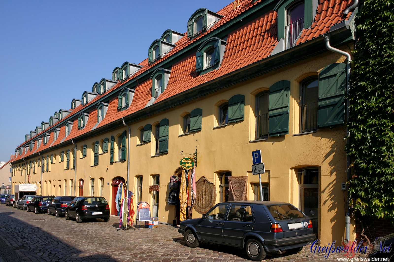 Hunnenstraße, Greifswald, September 2006