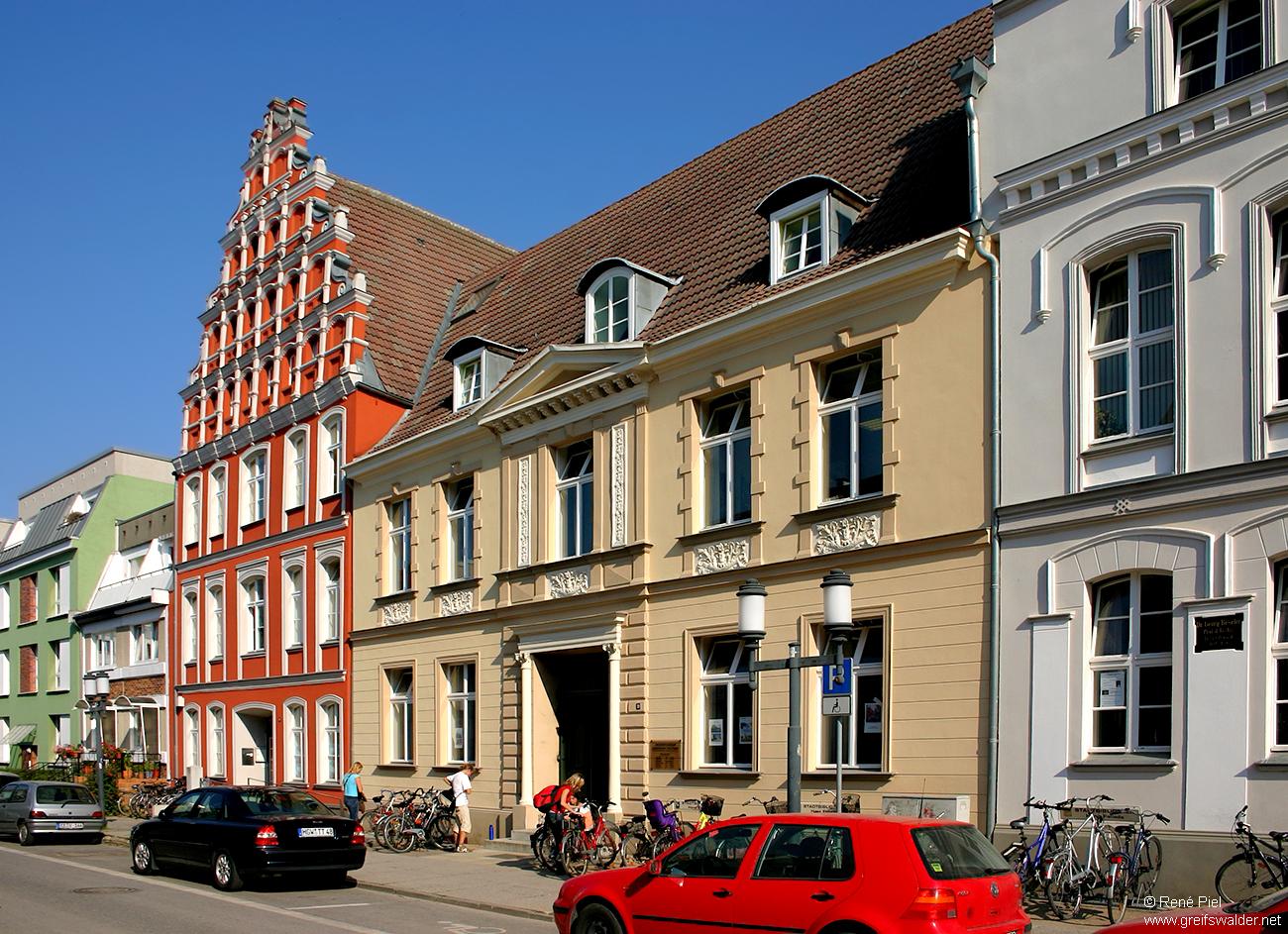 Stadtbibliothek Hans Fallada in Greifswald