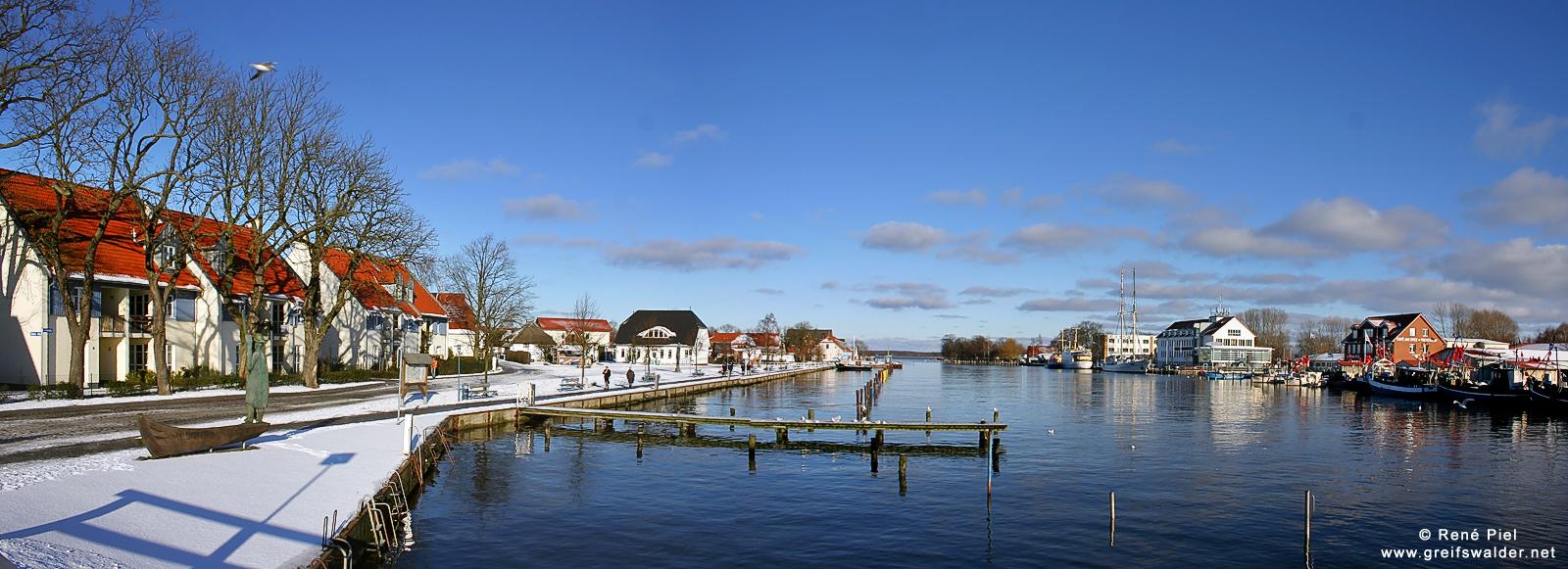 Panorama Greifswald-Wieck