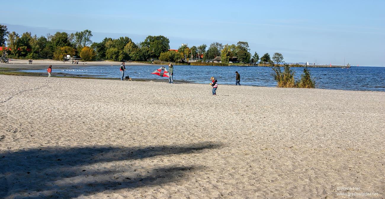 Am Strand in Greifswald-Eldena (Oktober 2007)