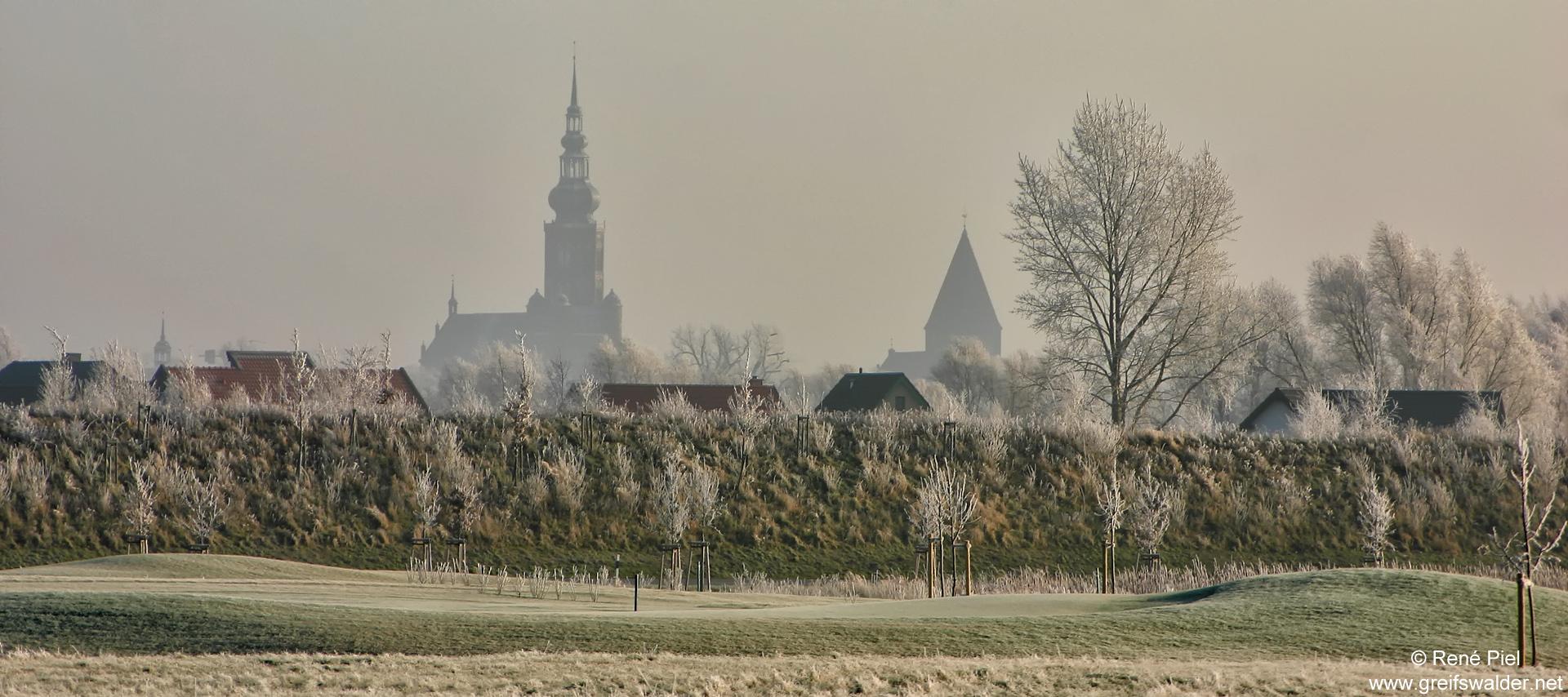 Greifswald im Winter 2007