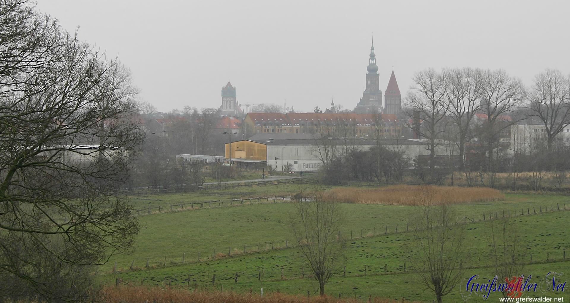 Wiesen bei Greifswald - Caspar-David-Friedrich-Blick