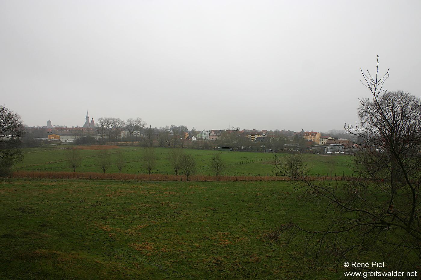"""Besichtigung """"Caspar-David-Friedrich-Blick"""" in Greifswald"""