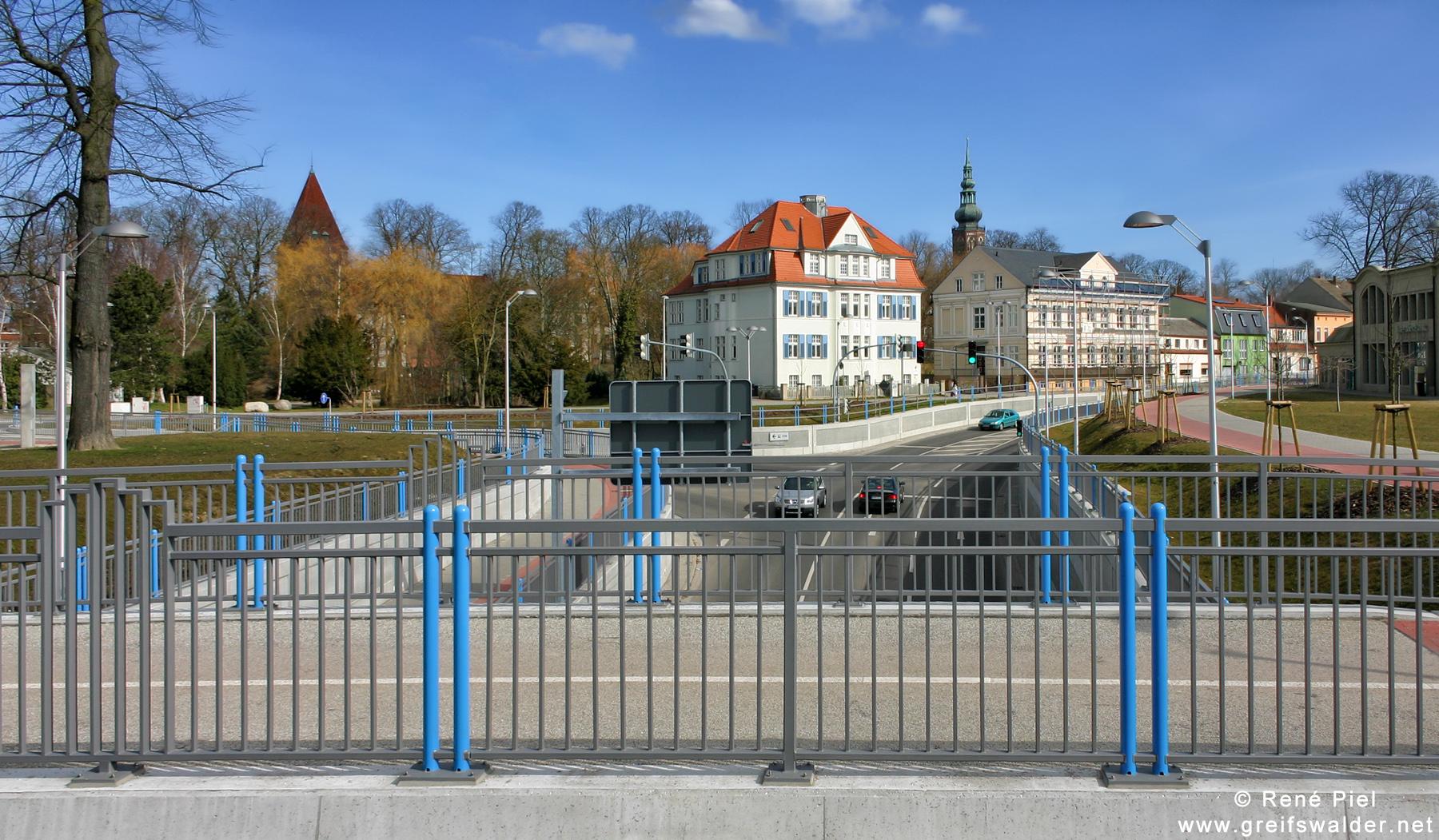 Am Hauptbahnhof in Greifswald