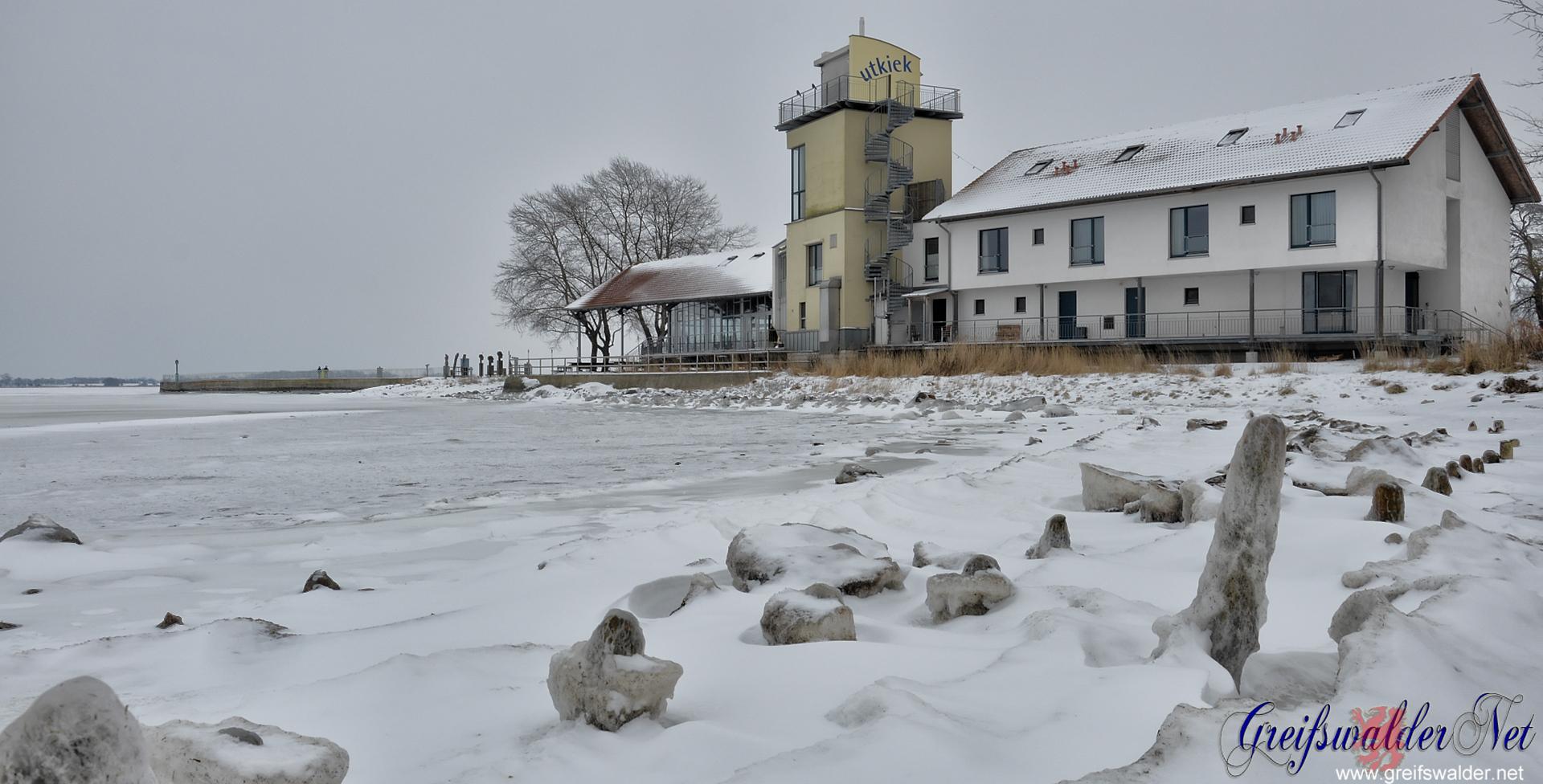 31. Januar 2014 am Utkiek in Greifswald-Wieck