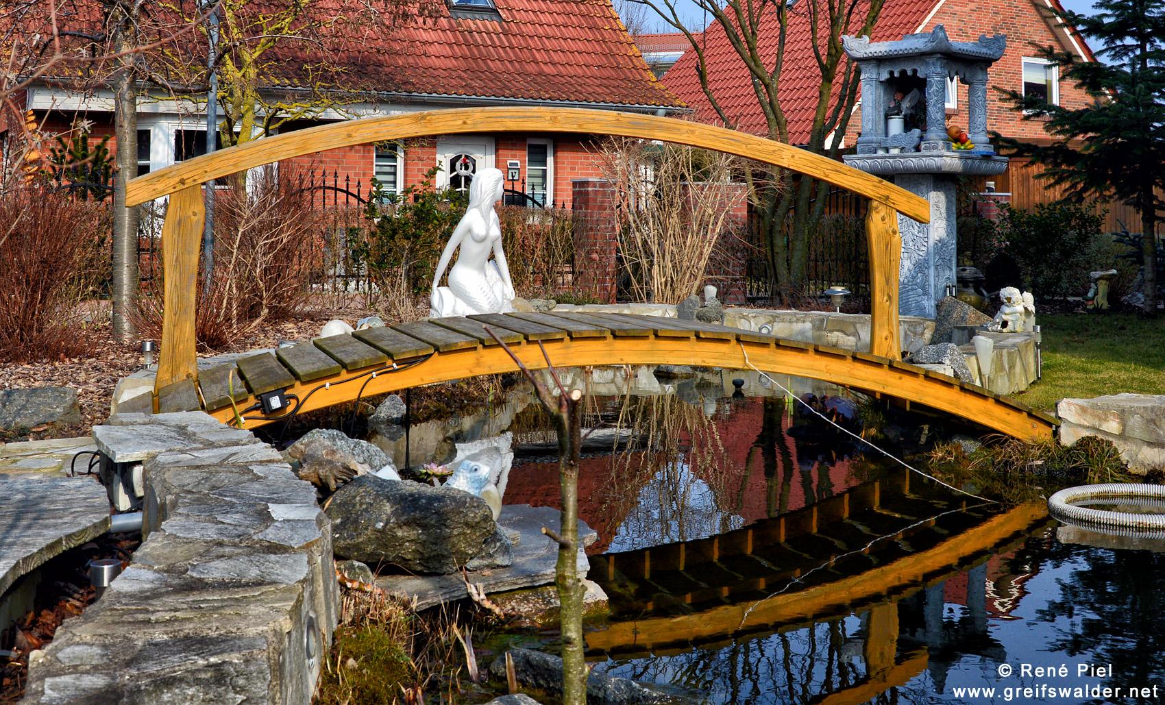 In einem Greifswalder Vorgarten