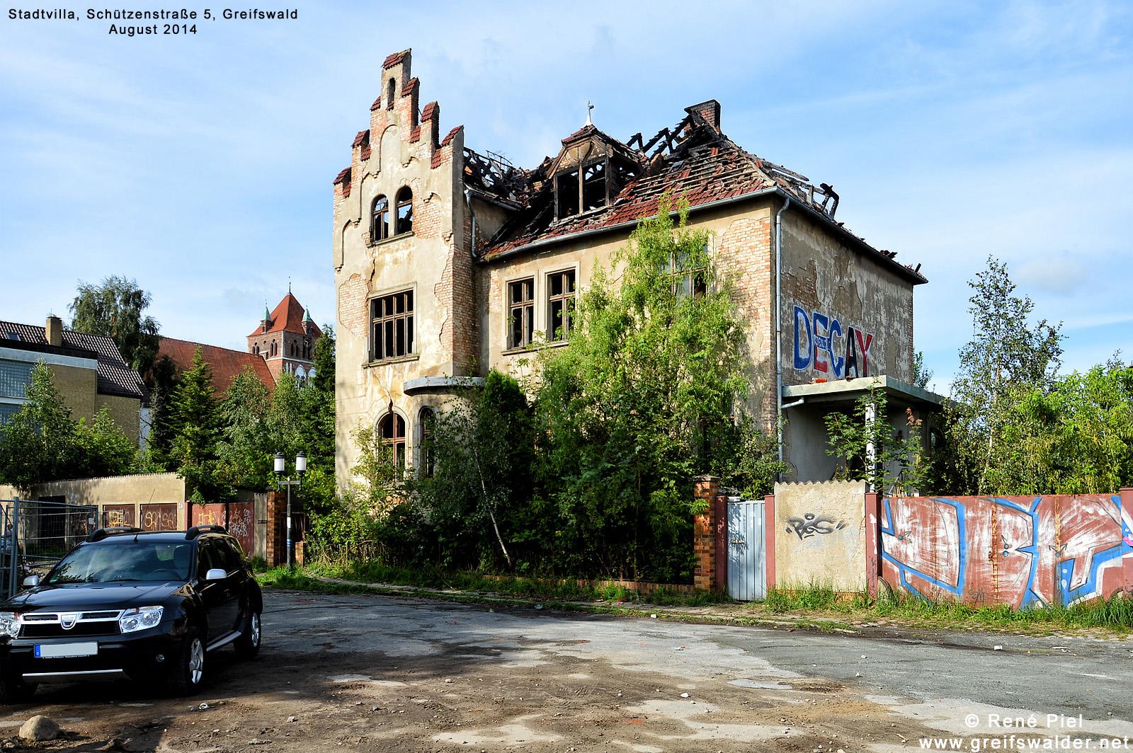 Stadtvilla, Schützenstraße 5, Greifswald