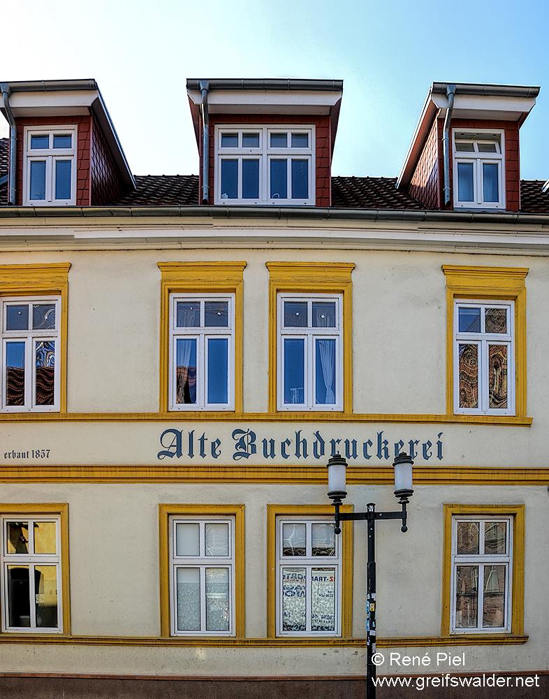 Alte Buchdruckerei Greifswald
