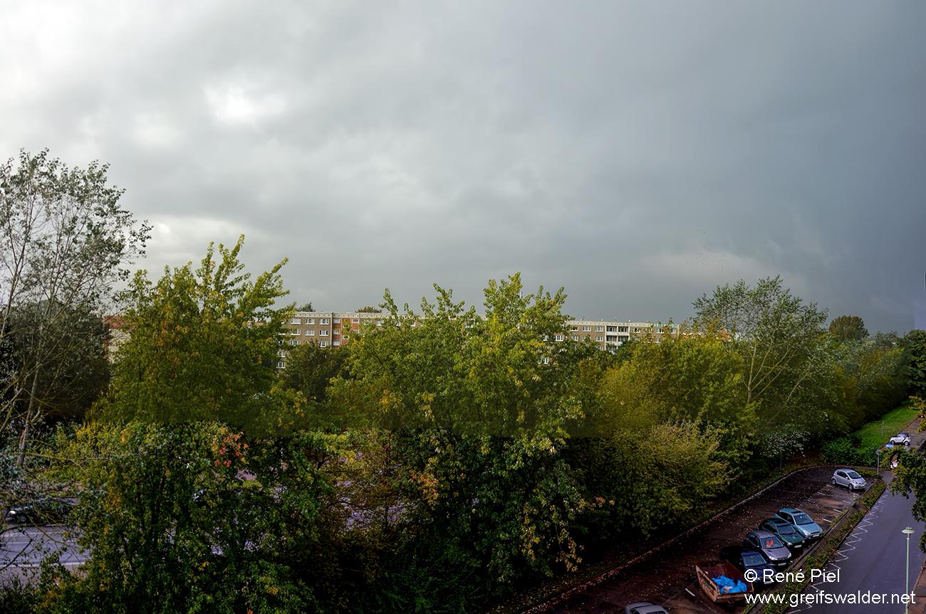 Regen und Gewitter