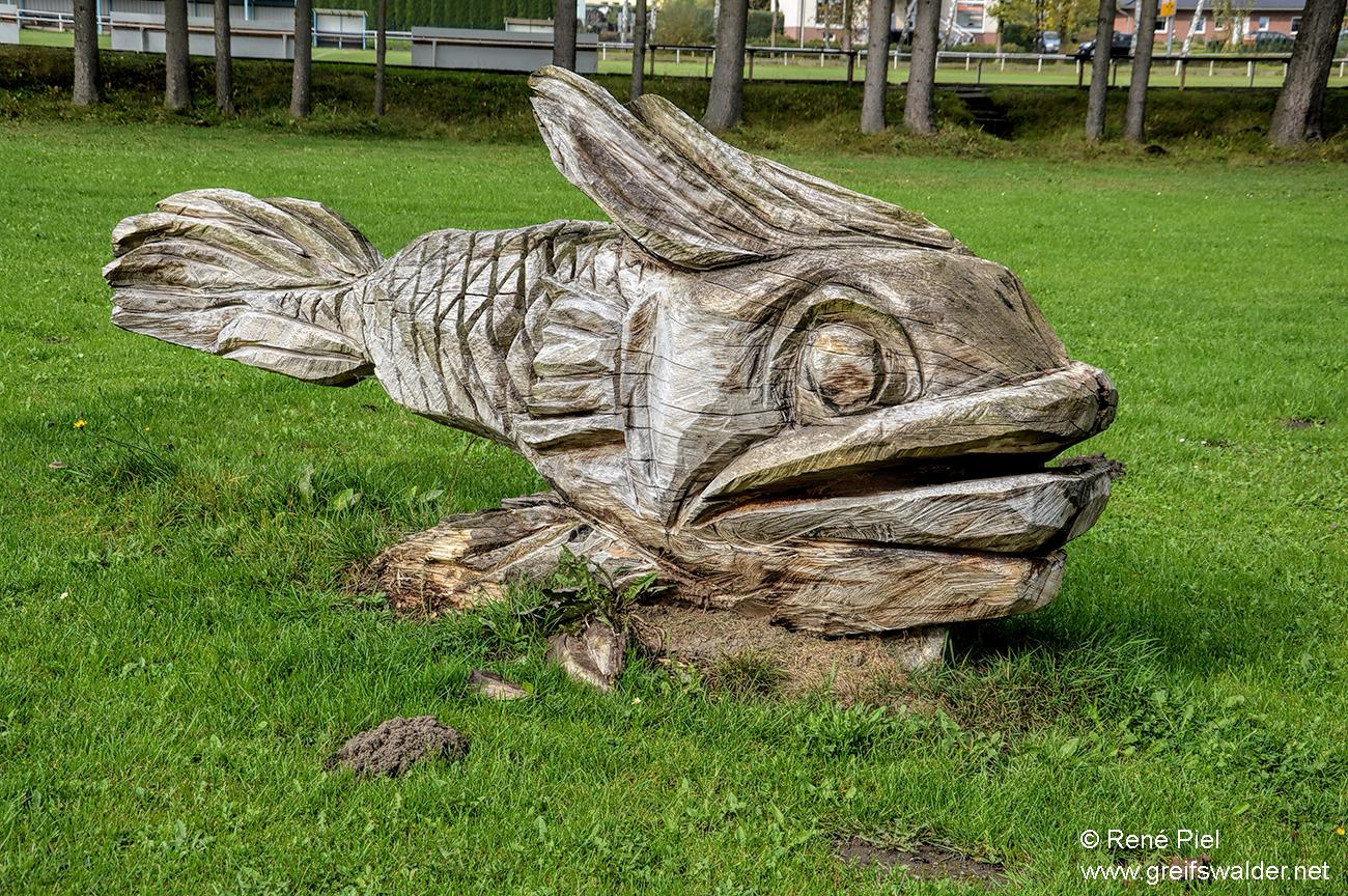 Skulptur in Züssow