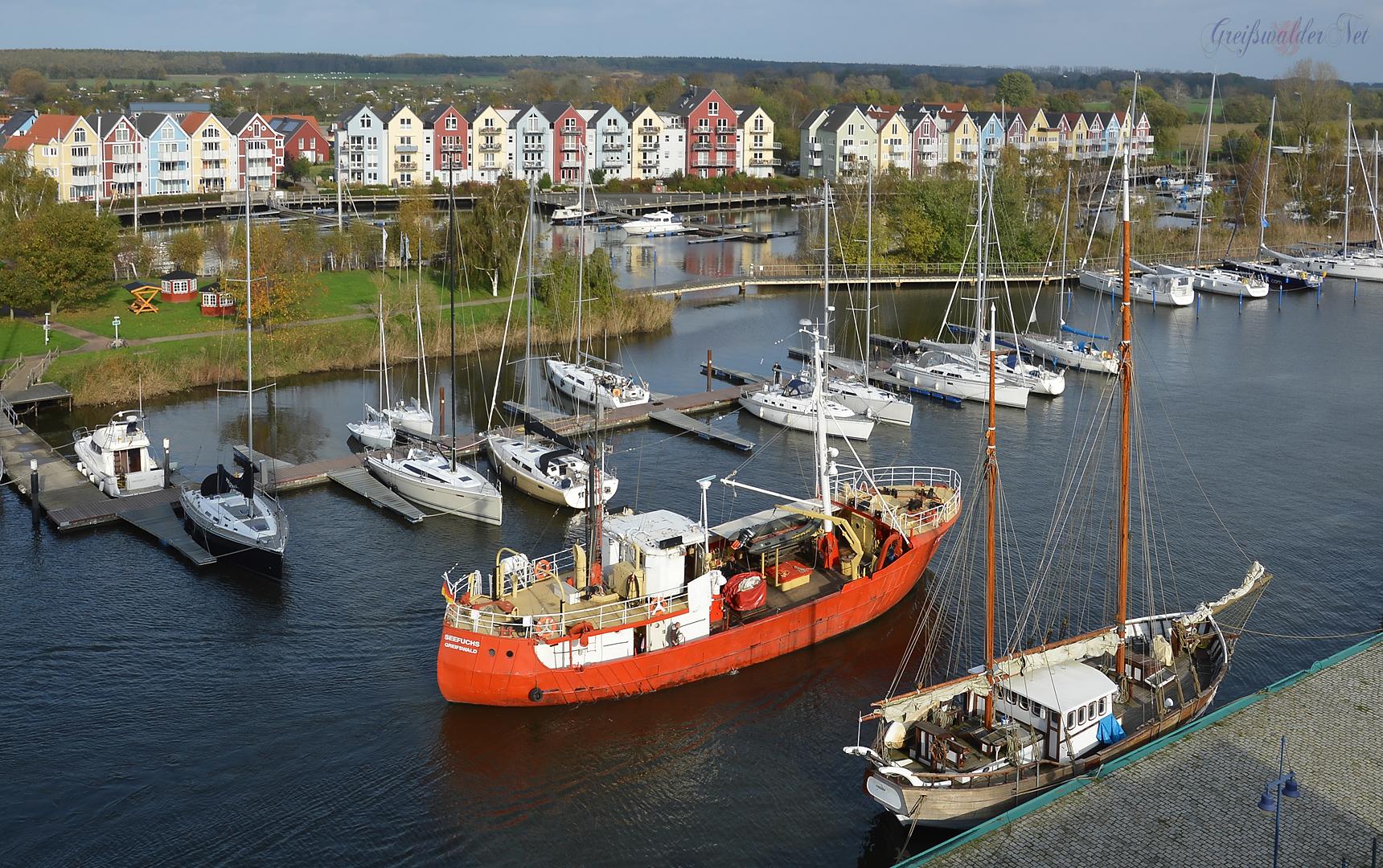 Marina Yachtzentrum in Greifswald