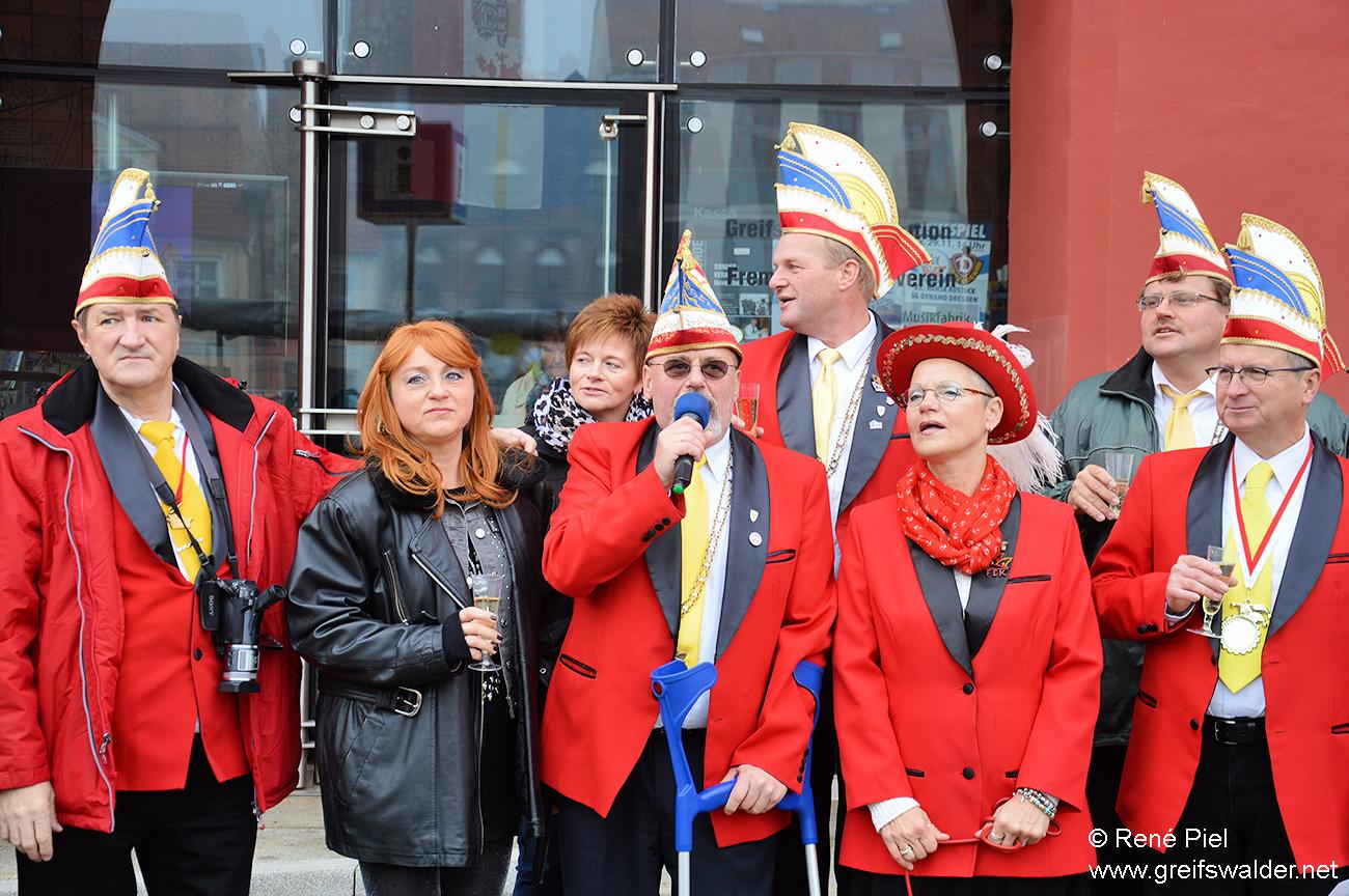 Eröffnung der Karnevalssaison in Greifswald
