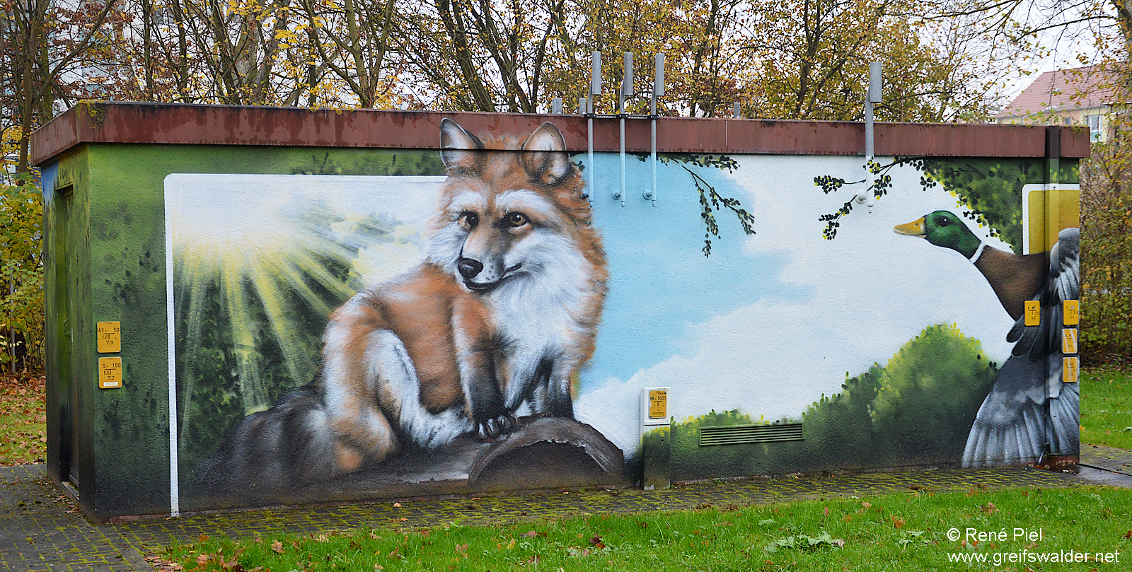 Graffiti in Greifswald