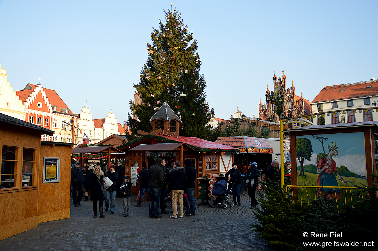 Greifswalder Weihnachtsmarkt