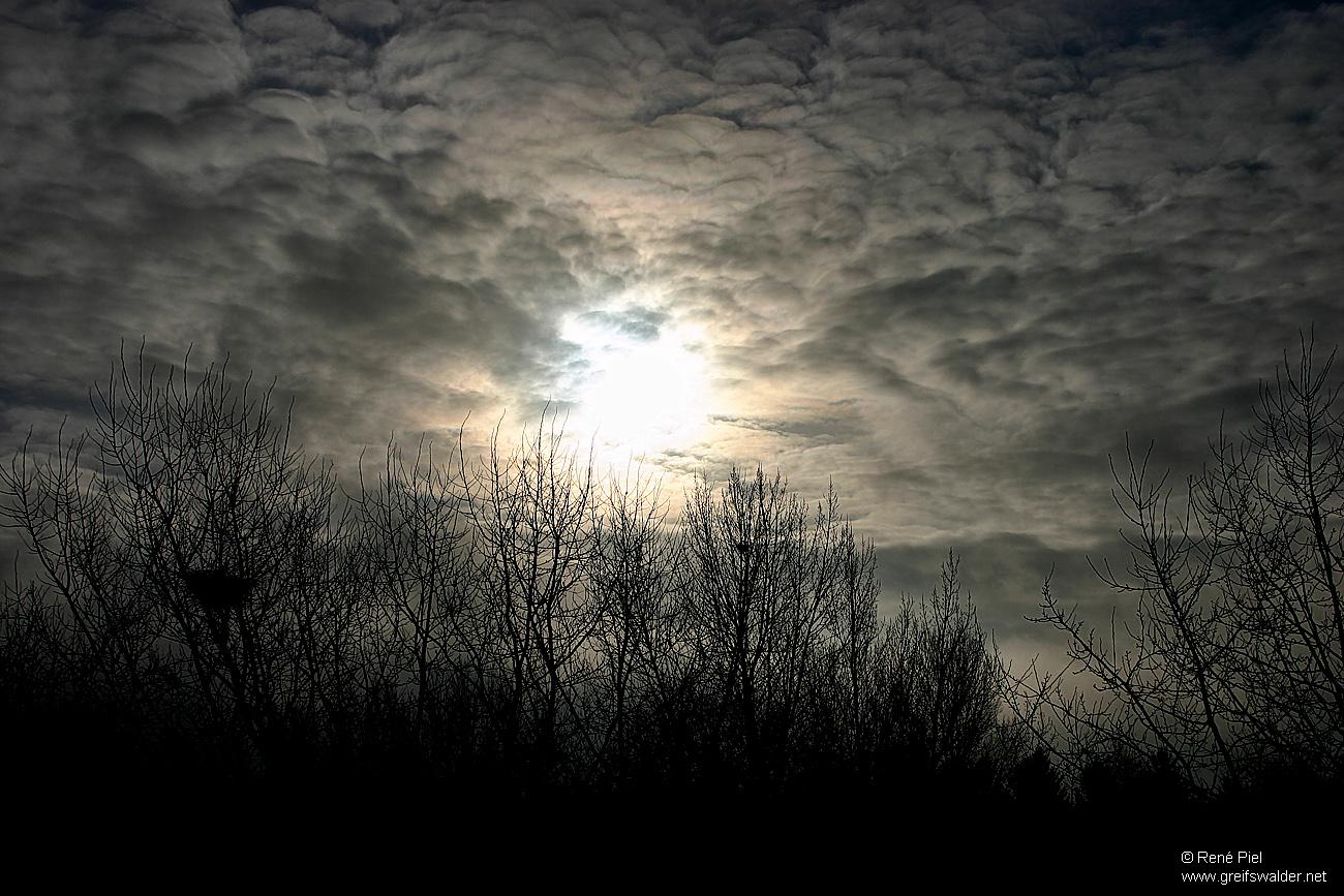 Sonne, Wolken, Licht