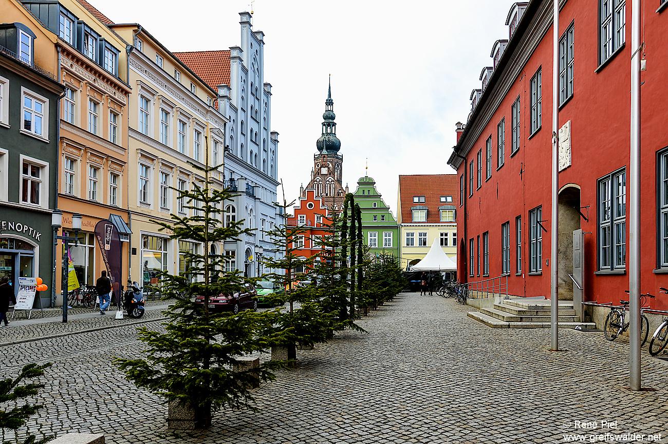 Rathausvorplatz in Greifswald