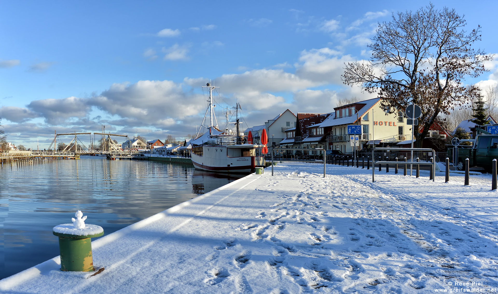 Winter in Greifswald-Wieck