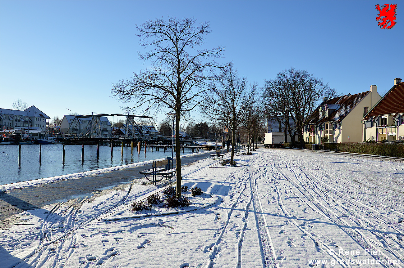Winterimpressionen aus Greifswald-Wieck