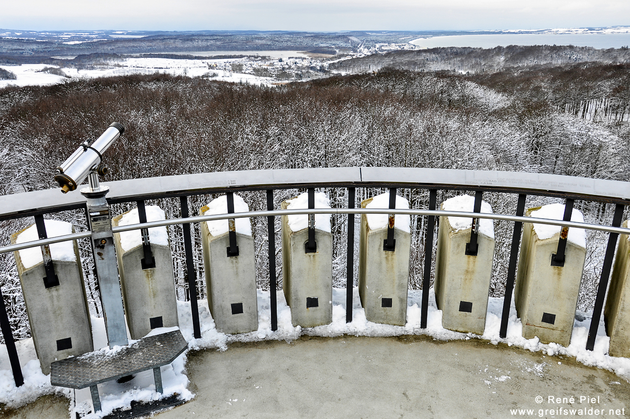 Blick vom Jagdschloss Granitz