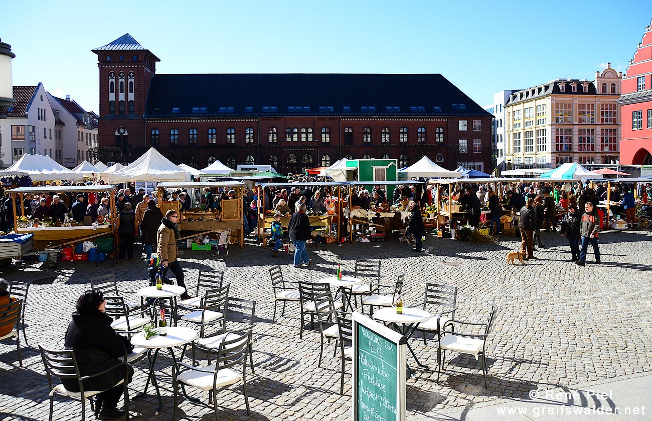 Karsamstag in Greifswald