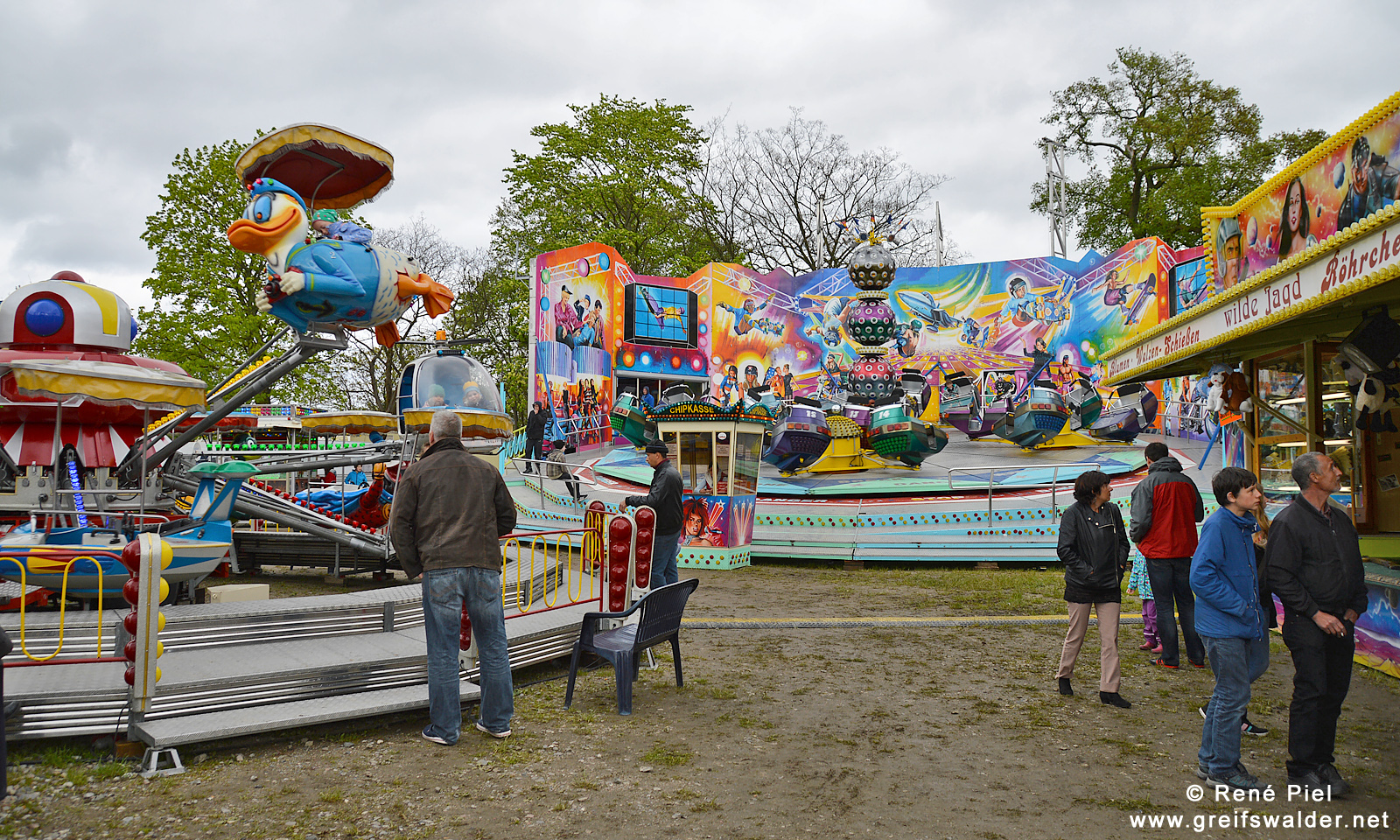 Frühlingskirmes am Museumshafen Greifswald