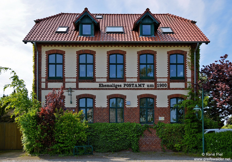 Ehemaliges Postamt in Greifswald-Eldena